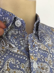 2013 DENIM BUTTON UNDER COLLAR PEAK