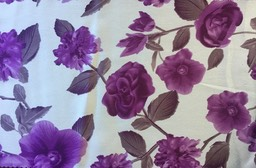 N450 POLY-SATIN 112-114CM  PURPLE